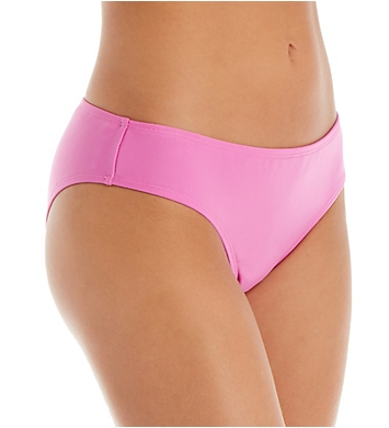 Hot Water Solids Shirred Wide Cheeky Hipster Swim Bottom