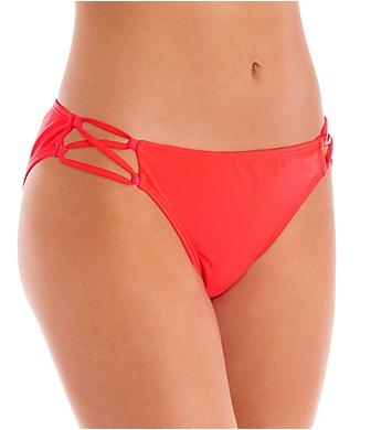 Hot Water Solids Multi Strap Hipster Swim Bottom
