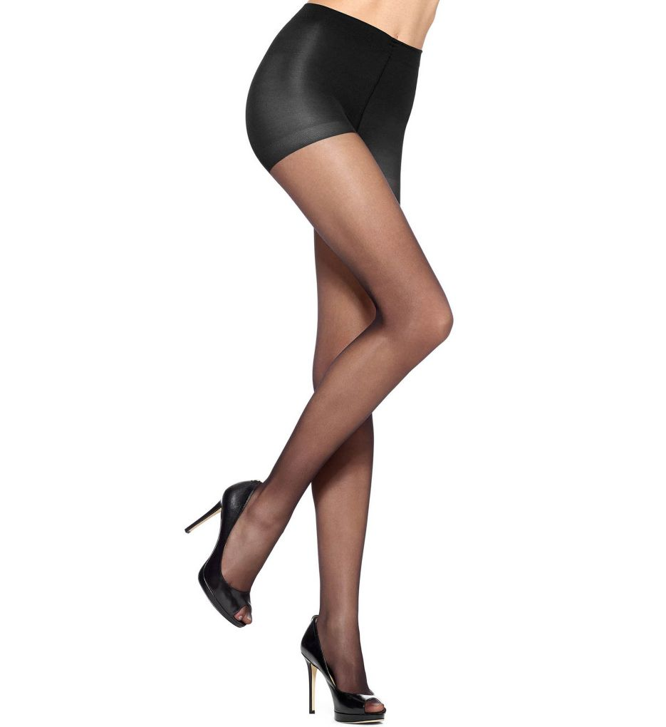 Hue Polished Sheer With Control Top Pantyhose
