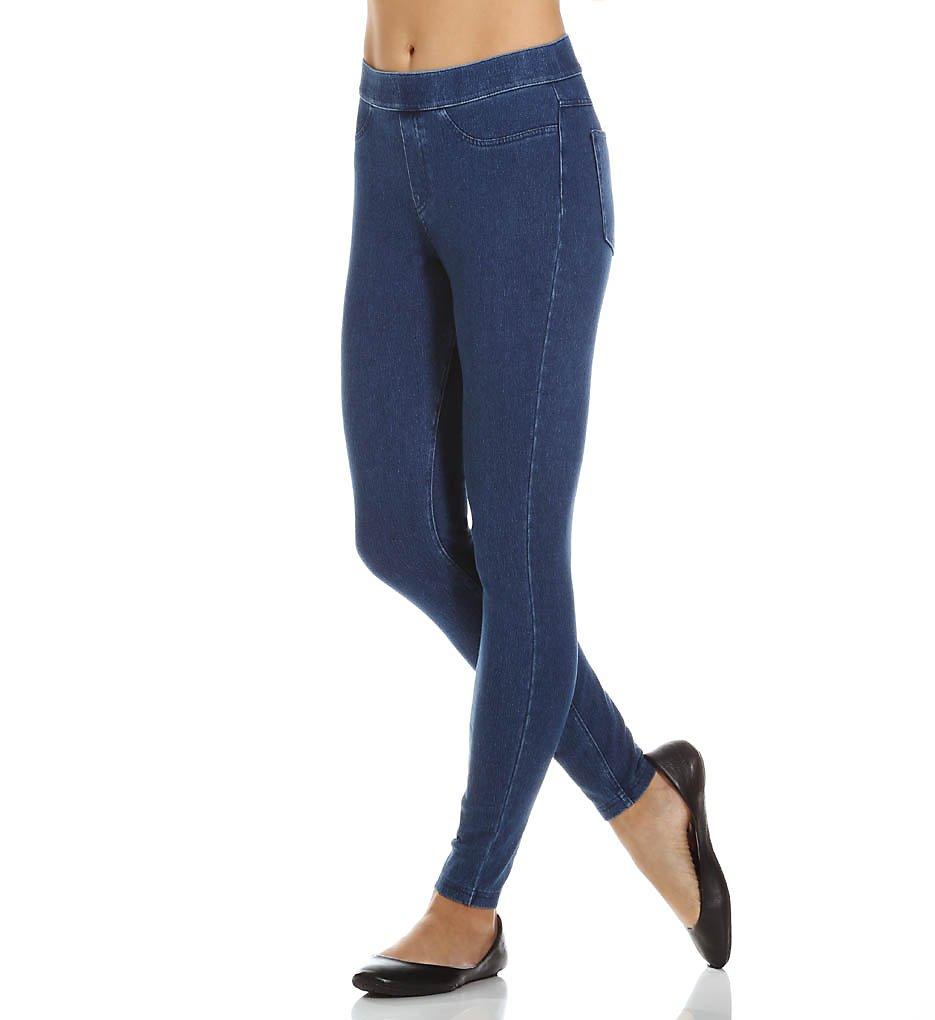 Hue 14561 Curvy Fit Jeans Leggings (Medium Wash)