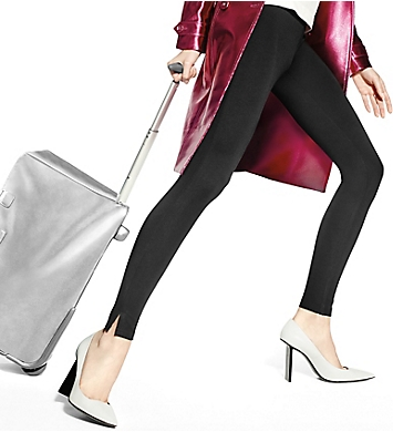 Hue Travelista Luxe Ponte Legging with Side Slit