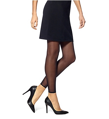 Hue Flat-tering Fit Opaque Footless Tights
