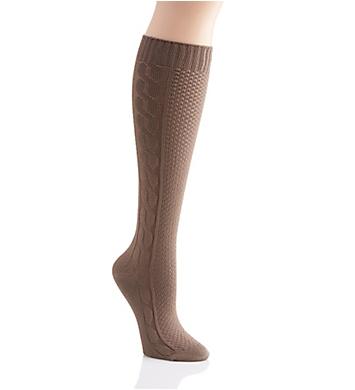 Hue Super Soft Cable Knee Sock