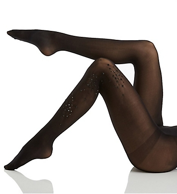 Hue Rhinestone Cluster Tights