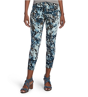 Hue Essential Denim Camo Capri