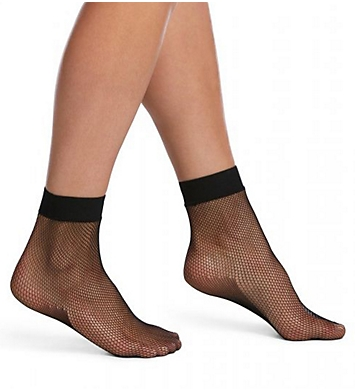 Hue Sporty Fishnet Anklet