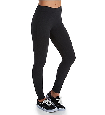 Hue Wide Waistband Blackout Cotton Leggings
