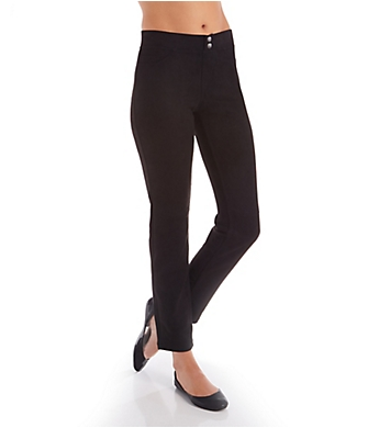 Hue Microsuede Straight Leg Leggings