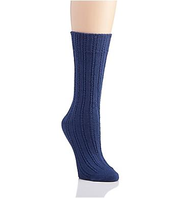 Hue Temp Tech Ribbed Boot Sock