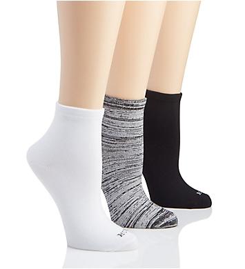 Hue Super Soft Cropped Sock - 3 Pack