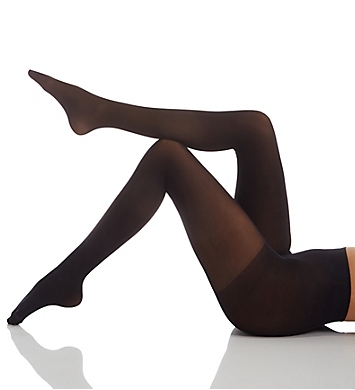 Hue Opaque Control Top Tights - 2 Pair Pack
