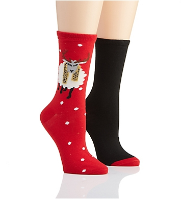 Hue Holiday Stocking Stuffer Sock - 2 Pack