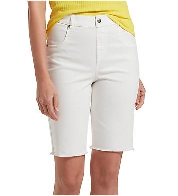 Hue Ultra Soft Denim High Waist Bermuda Shorts