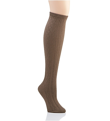 Hue Cable Knee Sock