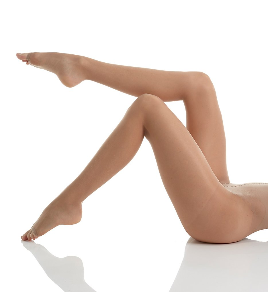 Hue pantyhose control toeless tan