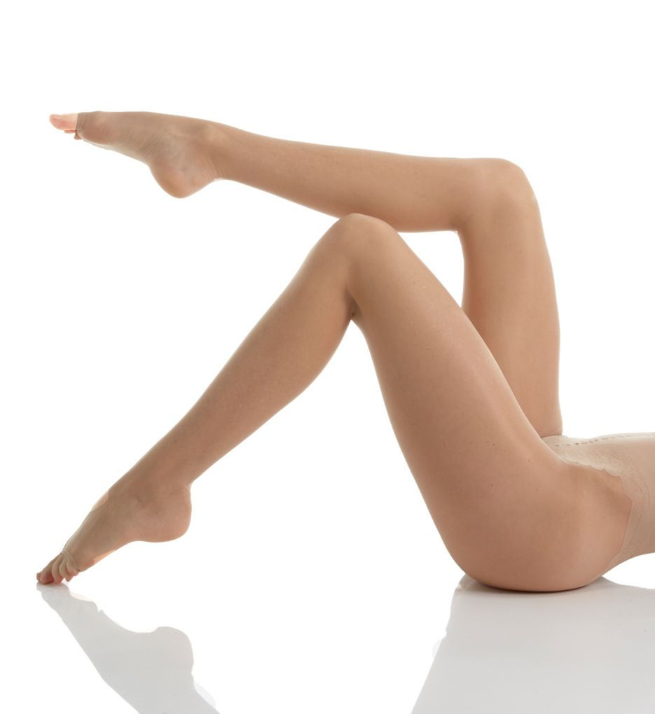 Hue Toeless Control Top Pantyhose