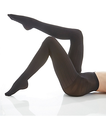 Hue Cable Tights with Control Top