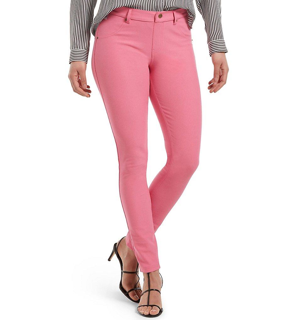 Hue U16924 Essential Denim Leggings (Flamingo Pink)