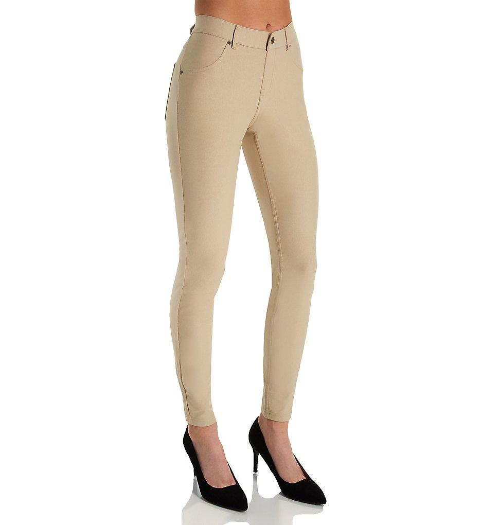 Hue U16924 Essential Denim Leggings (Sandbar)
