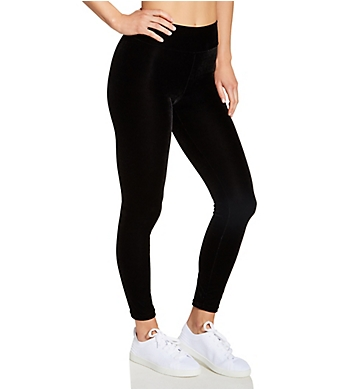 Hue Velvet High Rise Leggings