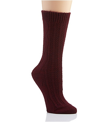 Hue Cable Boot Sock
