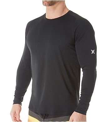 Hurley Dri-Fit Icon Quick Dry Tee Long Sleeve Surf Shirt