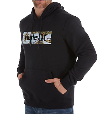 Hurley Surf Check Flamingo Pullover Hoodie