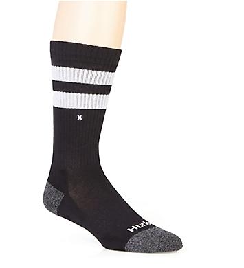 Hurley Extended Terry Mini Logo Crew Sock