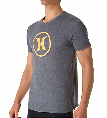 Hurley Circle Icon Nike Dri-Fit Short Sleeve T-Shirt