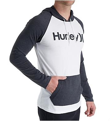 Hurley One & Only Raglan Sleeves Jersey Hoodie