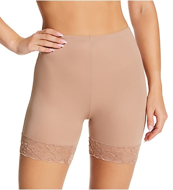 Ilusion 12 Inch Slip Short with Lace