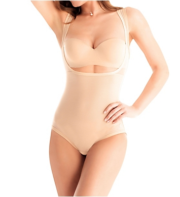 Ilusion Body Reduction Firm Control Open Bust Bodysuit