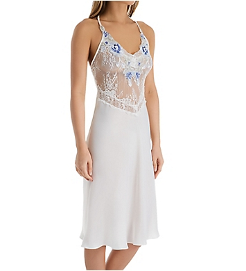 In Bloom by Jonquil An Affair to Remember Satin and Lace Midi Gown