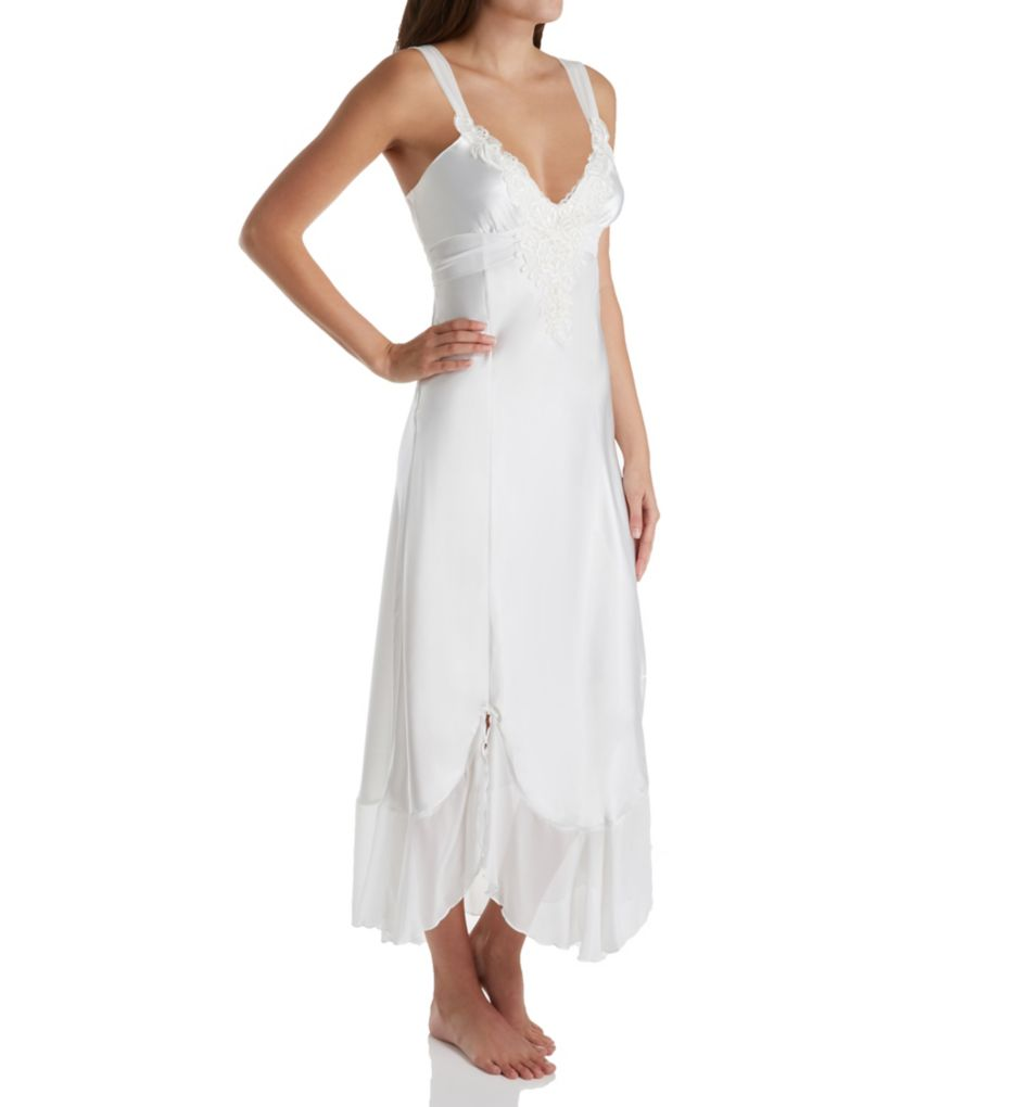 In Bloom by Jonquil Bridal Long Satin Gown