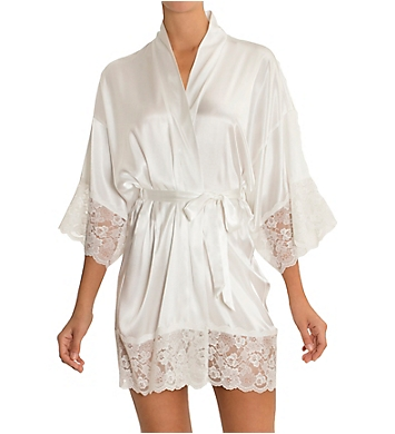 In Bloom by Jonquil Satin Bridal Wrap Robe