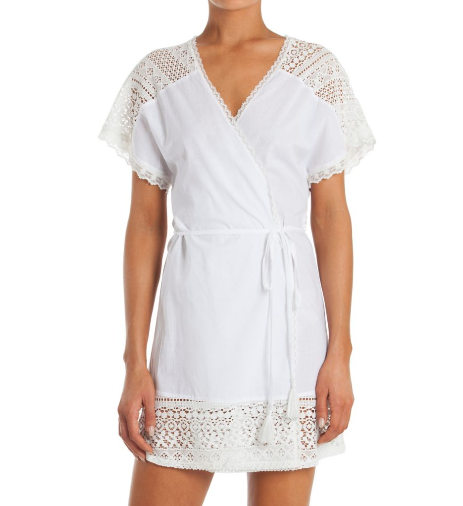In Bloom by Jonquil Little Wing Short Wrap Robe