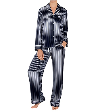 In Bloom by Jonquil Sophia Satin Stripe Pajama Set