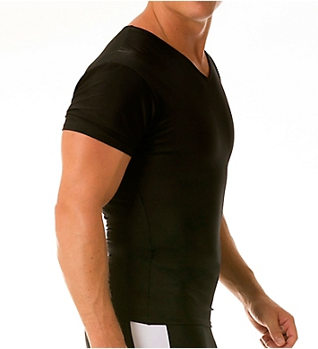Insta Slim Slimming Compression V-Neck T-Shirt