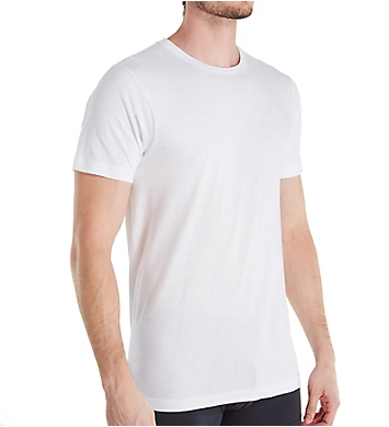 Izod Essentials Cotton Crew Neck T-Shirts - 5 Pack