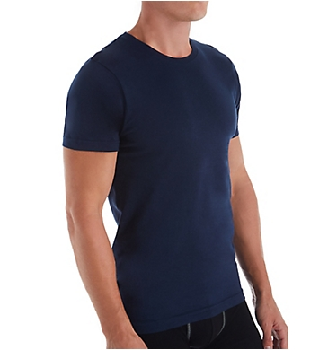Izod 100% Cotton Crew Neck T-Shirt - 4 Pack