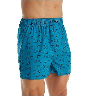 Izod Men's Fashion Printed Woven Boxer