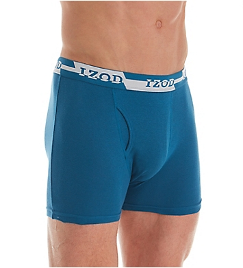 Izod Cotton Boxer Briefs - 5 Pack