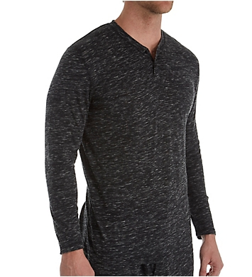 Izod Soft Touch Tri-Blend Heathered Long Sleeve T-Shirt