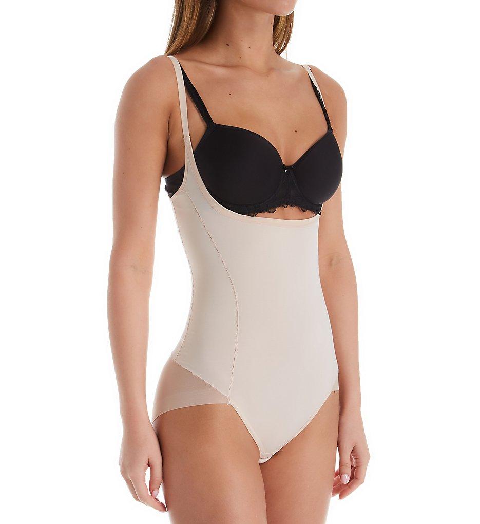 Janira - Janira 31224 Secrets Open Bust Shaping Bodysuit w/ Tanga Effect (Dune M)