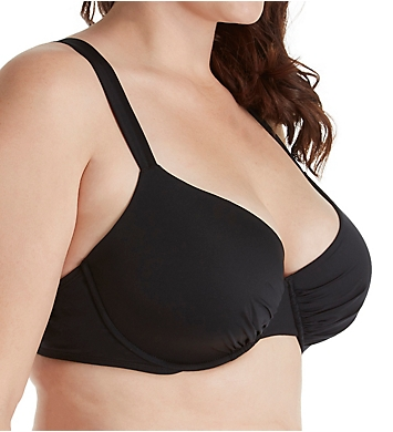 Jantzen Solid Underwire Plus Bikini Swim Top