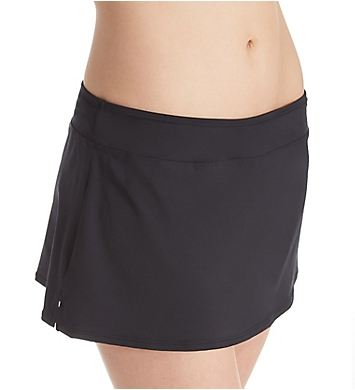 Jantzen Solids Tummy Control Skirted Brief Swim Bottom
