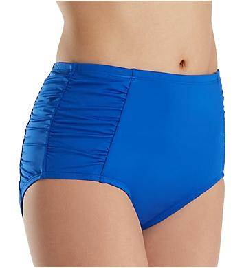 Jantzen Solids High Waist Tummy Control Brief Swim Bottom