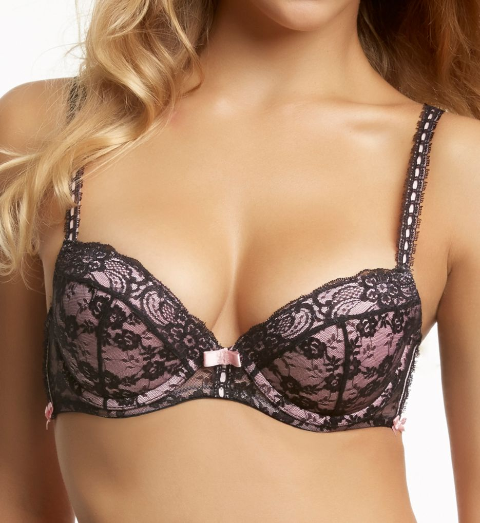 Jezebel Boudoir Lace Push Up Bra