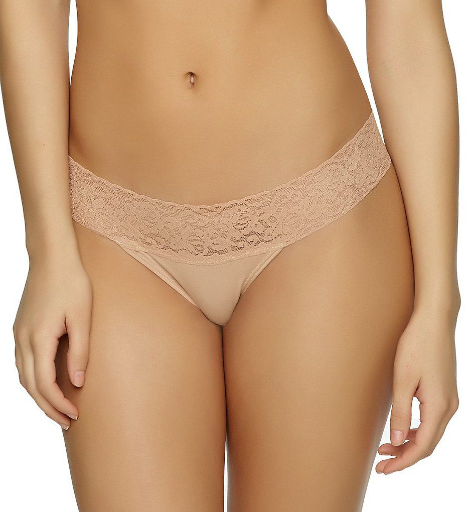 Jezebel Sparkle Modal with Stretch Lace Thong