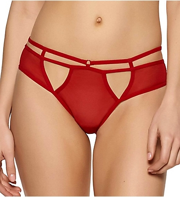 Jezebel Kitty Strappy Mesh Bikini Panty